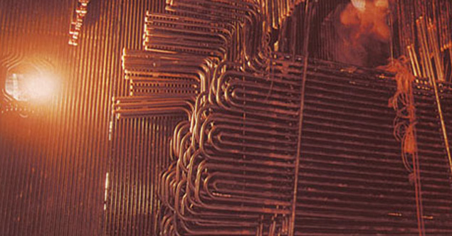Superheater coils TPP Boilers