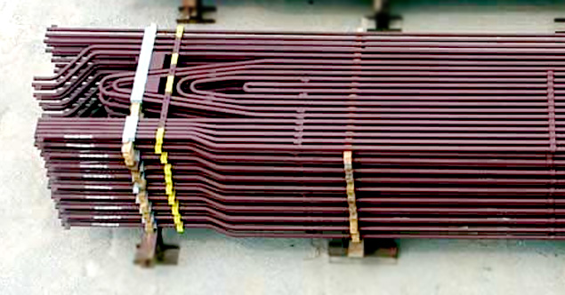 Superheaters  coils TPP Boilers